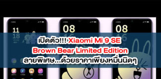 Xiaomi Mi 9 SE Brown Bear Limited Edition